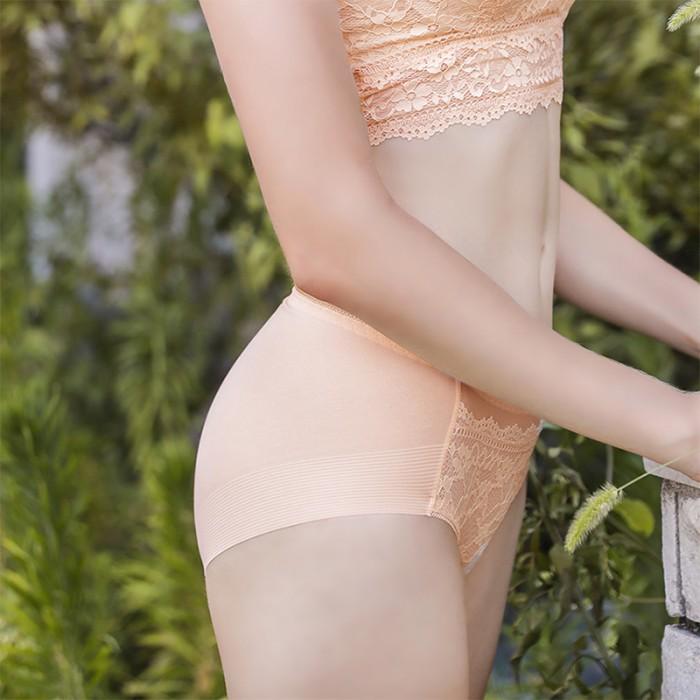 PeachSkin Lacy Magic Seamless Hiphugger Panty