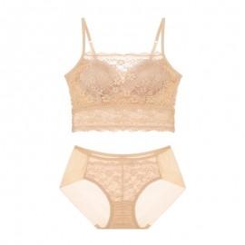 PeachSkin Lacy Magic Lift Bralette & Panty Set