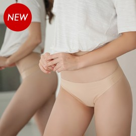 Beige Air T-Back Thong Panty