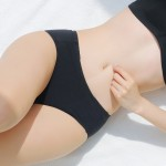 Black Cotton Menstrual Period Panty