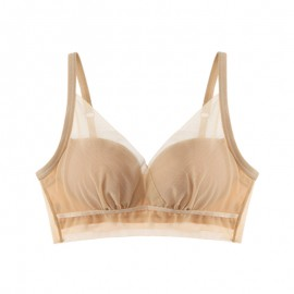 Beige Meshy Extreme Push-up Bralette (30mm Padded)
