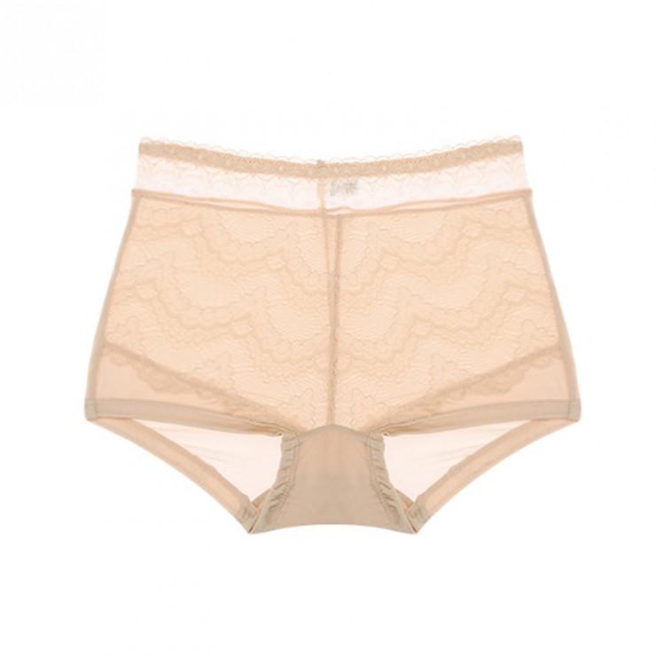 Beige Comfy Cool silk Full Brief Panty