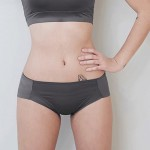 Charcoal Sporty Lulu Hiphugger Panty
